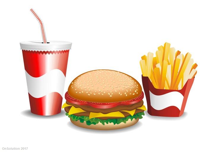 Laugh In Fast Food Restaurant